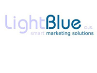 light blue logo