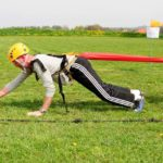 bungee-running
